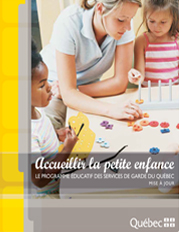 Programme educatif de la garderie les anges de ste-therese